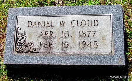 CLOUD, DANIEL W - Lafayette County, Arkansas   DANIEL W CLOUD - Arkansas Gravestone Photos