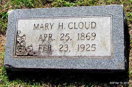 CLOUD, MARY H - Lafayette County, Arkansas | MARY H CLOUD - Arkansas Gravestone Photos