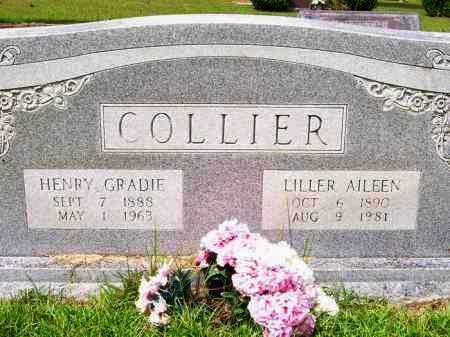 COLLIER, HENRY GRADIE - Lafayette County, Arkansas | HENRY GRADIE COLLIER - Arkansas Gravestone Photos