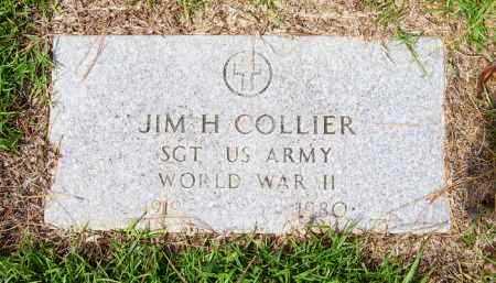 COLLIER (VETERAN WWII), JIM H. - Lafayette County, Arkansas | JIM H. COLLIER (VETERAN WWII) - Arkansas Gravestone Photos
