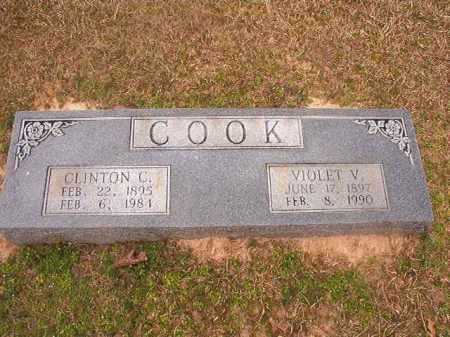 COOK, CLINTON C - Lafayette County, Arkansas | CLINTON C COOK - Arkansas Gravestone Photos