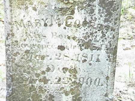 COOPER, MARY MAGDALINE (CLOSE UP) - Lafayette County, Arkansas | MARY MAGDALINE (CLOSE UP) COOPER - Arkansas Gravestone Photos