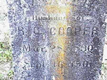 COOPER, WILLIAM ANDREW JACKSON - Lafayette County, Arkansas | WILLIAM ANDREW JACKSON COOPER - Arkansas Gravestone Photos