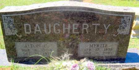 REDMAN DAUGHERTY, MYRTLE - Lafayette County, Arkansas | MYRTLE REDMAN DAUGHERTY - Arkansas Gravestone Photos