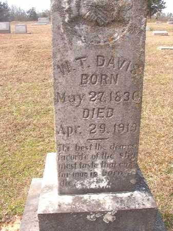 DAVIS, W T - Lafayette County, Arkansas | W T DAVIS - Arkansas Gravestone Photos