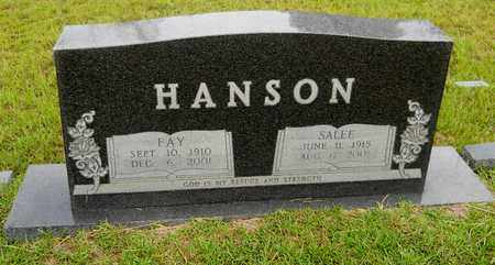 HANSON, FAY - Lafayette County, Arkansas   FAY HANSON - Arkansas Gravestone Photos