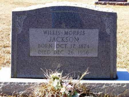 JACKSON, WILLIS MORRIS - Lafayette County, Arkansas   WILLIS MORRIS JACKSON - Arkansas Gravestone Photos