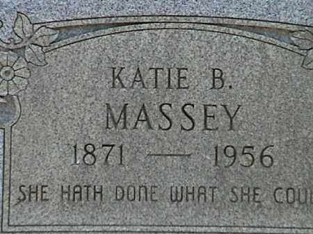 COBB MASSEY, KATIE BELL (CLOSE UP) - Lafayette County, Arkansas | KATIE BELL (CLOSE UP) COBB MASSEY - Arkansas Gravestone Photos