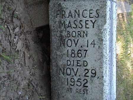 MASSEY, MARTHA FRANCES - Lafayette County, Arkansas | MARTHA FRANCES MASSEY - Arkansas Gravestone Photos