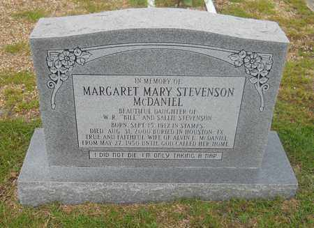 MCDANIEL, MARGARET MARY - Lafayette County, Arkansas | MARGARET MARY MCDANIEL - Arkansas Gravestone Photos