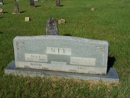 NIX, MATTIE - Lafayette County, Arkansas | MATTIE NIX - Arkansas Gravestone Photos