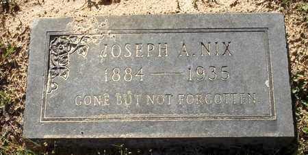 NIX, JOSEPH A - Lafayette County, Arkansas | JOSEPH A NIX - Arkansas Gravestone Photos