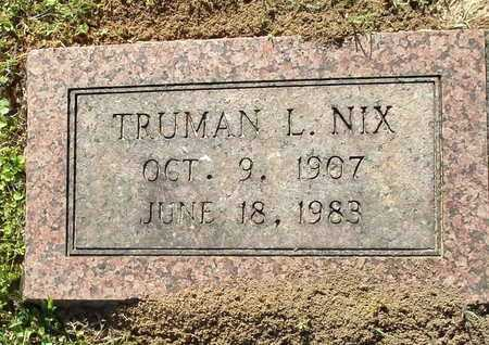 NIX, TRUMAN L. - Lafayette County, Arkansas | TRUMAN L. NIX - Arkansas Gravestone Photos
