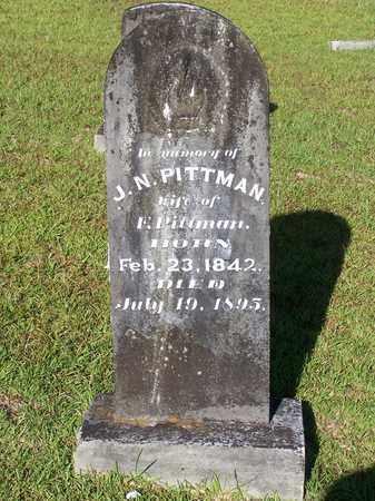 PITTMAN, J.N. - Lafayette County, Arkansas | J.N. PITTMAN - Arkansas Gravestone Photos
