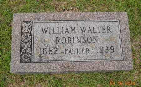 ROBINSON, WILLIAM WALTER - Lafayette County, Arkansas | WILLIAM WALTER ROBINSON - Arkansas Gravestone Photos