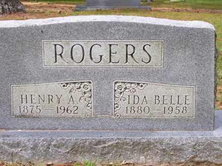 ROGERS, HENRY A. - Lafayette County, Arkansas | HENRY A. ROGERS - Arkansas Gravestone Photos