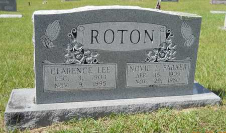 ROTON, CLARENCE LEE - Lafayette County, Arkansas | CLARENCE LEE ROTON - Arkansas Gravestone Photos