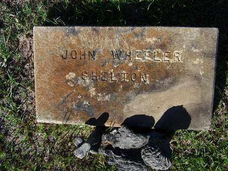 SHELTON, JOHN WHEELER - Lafayette County, Arkansas | JOHN WHEELER SHELTON - Arkansas Gravestone Photos
