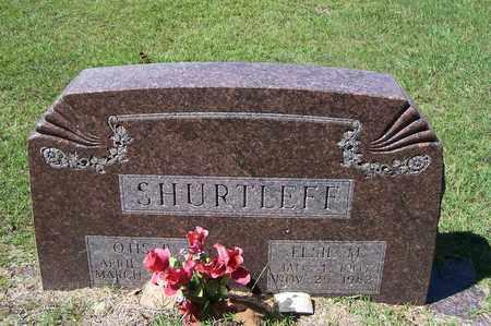 SHURTLEFF, ELSIE M - Lafayette County, Arkansas   ELSIE M SHURTLEFF - Arkansas Gravestone Photos