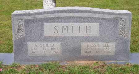 SMITH, A QUILLA - Lafayette County, Arkansas | A QUILLA SMITH - Arkansas Gravestone Photos