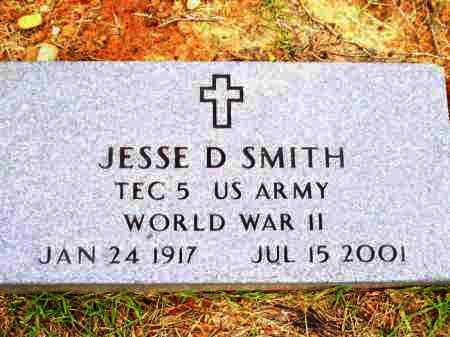 SMITH (VETERAN WWII), JESSE DALTON - Lafayette County, Arkansas | JESSE DALTON SMITH (VETERAN WWII) - Arkansas Gravestone Photos