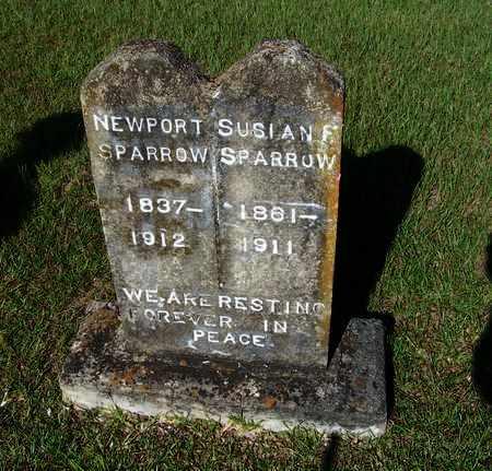 SPARROW, NEWPORT - Lafayette County, Arkansas   NEWPORT SPARROW - Arkansas Gravestone Photos