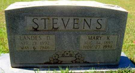 STEVENS, MARY K - Lafayette County, Arkansas | MARY K STEVENS - Arkansas Gravestone Photos