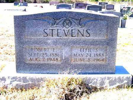 STEVENS, EFFIE S - Lafayette County, Arkansas | EFFIE S STEVENS - Arkansas Gravestone Photos