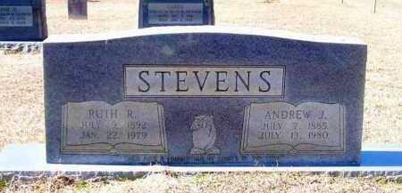 STEVENS, ANDREW J - Lafayette County, Arkansas | ANDREW J STEVENS - Arkansas Gravestone Photos