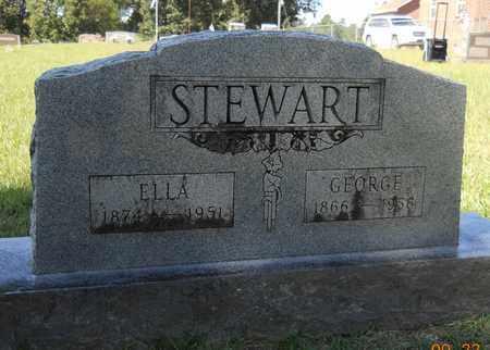 STEWART, GEORGE - Lafayette County, Arkansas   GEORGE STEWART - Arkansas Gravestone Photos