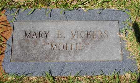 "VICKERS, MARY E ""MOLLIE"" - Lafayette County, Arkansas   MARY E ""MOLLIE"" VICKERS - Arkansas Gravestone Photos"