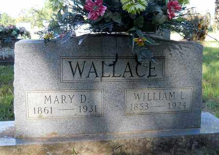 ALTOM WALLACE, MARY D - Lafayette County, Arkansas | MARY D ALTOM WALLACE - Arkansas Gravestone Photos