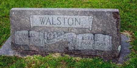 WALSTON, CHARLES P - Lafayette County, Arkansas | CHARLES P WALSTON - Arkansas Gravestone Photos