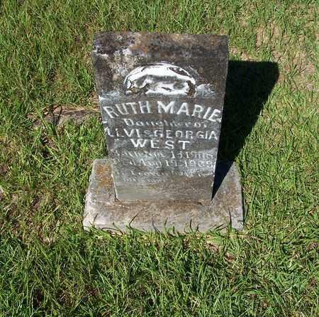 WEST, RUTH MARIE - Lafayette County, Arkansas | RUTH MARIE WEST - Arkansas Gravestone Photos