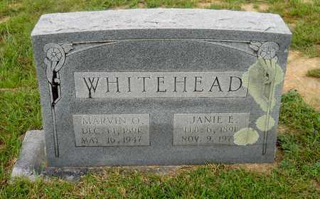 WHITEHEAD, MARVIN O - Lafayette County, Arkansas   MARVIN O WHITEHEAD - Arkansas Gravestone Photos
