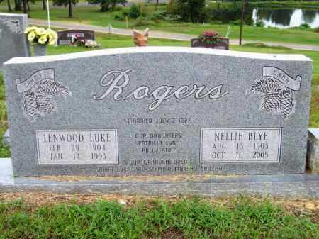 ROGERS, NELLIE - Lafayette County, Arkansas | NELLIE ROGERS - Arkansas Gravestone Photos