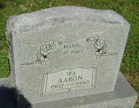 AARON, IRA JACK - Lawrence County, Arkansas | IRA JACK AARON - Arkansas Gravestone Photos
