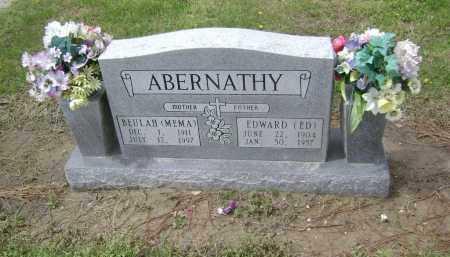 "ABERNATHY, BEULAH ""MEMA"" - Lawrence County, Arkansas | BEULAH ""MEMA"" ABERNATHY - Arkansas Gravestone Photos"