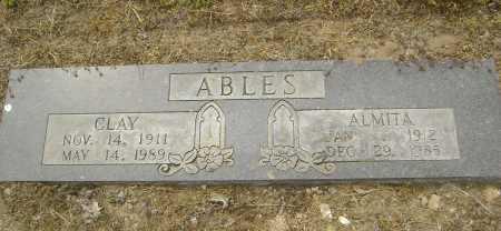 ABLES, CLAY - Lawrence County, Arkansas | CLAY ABLES - Arkansas Gravestone Photos