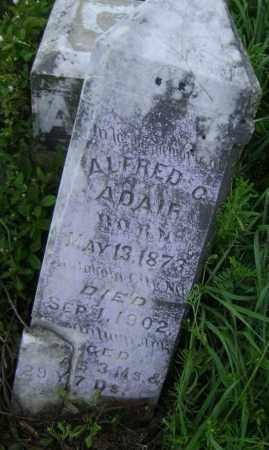 ADAIR, ALFRED C. - Lawrence County, Arkansas   ALFRED C. ADAIR - Arkansas Gravestone Photos