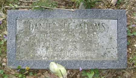 ADAMS, DANIEL EL - Lawrence County, Arkansas   DANIEL EL ADAMS - Arkansas Gravestone Photos