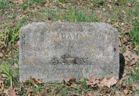 ADAMS, NELLIE B. - Lawrence County, Arkansas | NELLIE B. ADAMS - Arkansas Gravestone Photos
