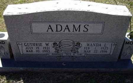 ADAMS, WANDA LEE - Lawrence County, Arkansas | WANDA LEE ADAMS - Arkansas Gravestone Photos