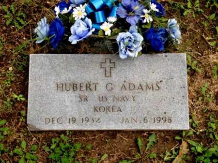 ADAMS (VETERAN KOR), HUBERT G - Lawrence County, Arkansas | HUBERT G ADAMS (VETERAN KOR) - Arkansas Gravestone Photos