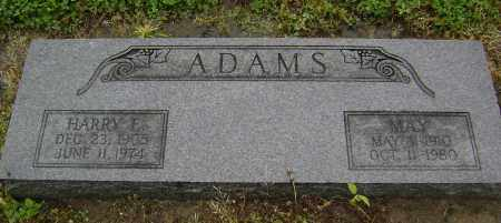 ADAMS, MAY - Lawrence County, Arkansas | MAY ADAMS - Arkansas Gravestone Photos