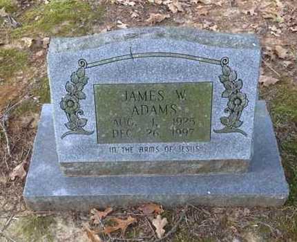 ADAMS, JAMES W. - Lawrence County, Arkansas | JAMES W. ADAMS - Arkansas Gravestone Photos