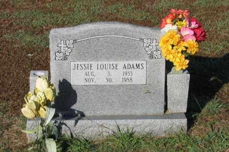 HUSKEY ADAMS, JESSIE LOUISE - Lawrence County, Arkansas | JESSIE LOUISE HUSKEY ADAMS - Arkansas Gravestone Photos