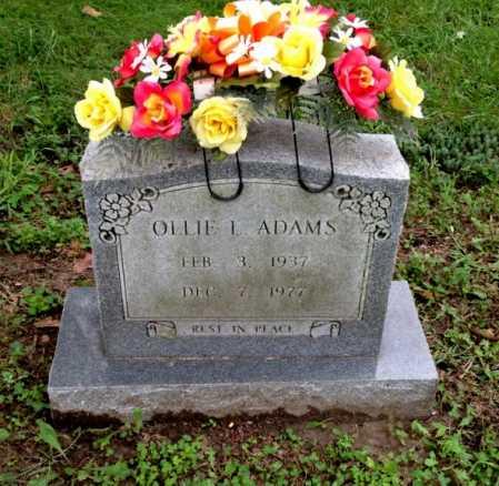 MORRIS ADAMS, OLLIE LOU - Lawrence County, Arkansas | OLLIE LOU MORRIS ADAMS - Arkansas Gravestone Photos