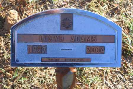 ADAMS (VETERAN), LLOYD CHARLES - Lawrence County, Arkansas   LLOYD CHARLES ADAMS (VETERAN) - Arkansas Gravestone Photos