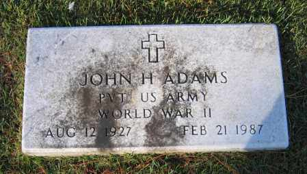 ADAMS (VETERAN WWII), JOHN 'JACK' HOLDEN - Lawrence County, Arkansas | JOHN 'JACK' HOLDEN ADAMS (VETERAN WWII) - Arkansas Gravestone Photos